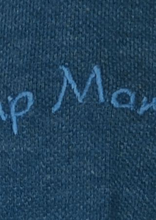 YSER Polo JEAN en coton piqué manche courtes CAP MARINE