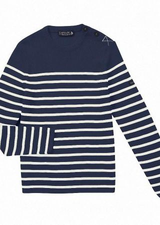 CAMBUSE  Pull marin femme  Captain corsaire
