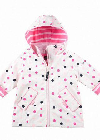 Manteau de pluie zippé bébé Sailors Baby Captain Corsaire