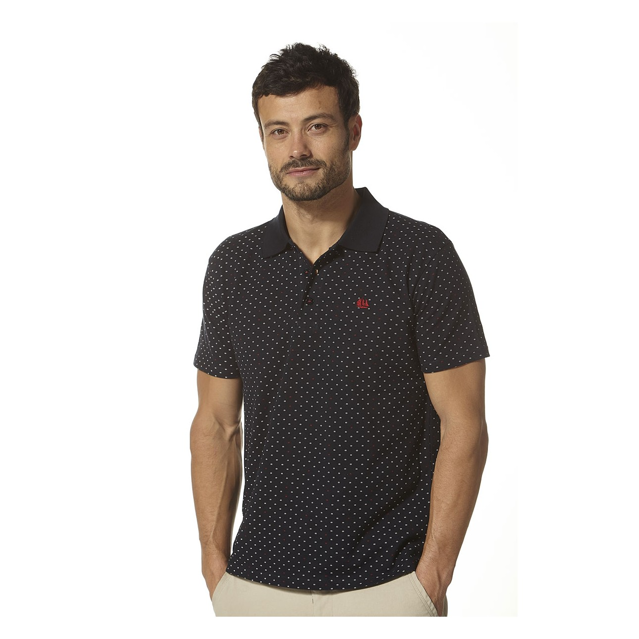 T-Shirts//Polos//Vests Homme Regatta Pull Manches Longues en Coton Kiro avec Col en V